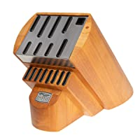 Deals on Chicago Cutlery Wood & Steel Fusion Knife Storage Block