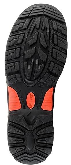 ab6183a3cd2 Buckler Nubuckz NKZ102BK Black Safety Lace Boot: Amazon.co.uk: Shoes ...