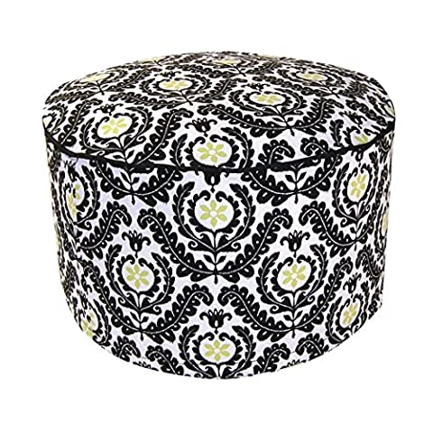Trend Lab Waverly Rise and Shine Petite Pouf Chair (Indoor Chaise Chair Cover)