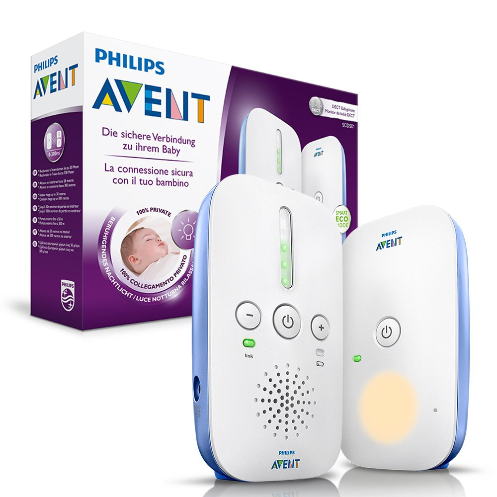 [amazon.de] Philips Avent SCD501/00 DECT Babyphone za 34,99€