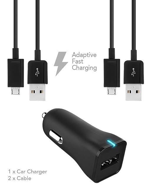 Galaxy S7 y S7 Edge adaptativa Cargador rápido Micro USB 2.0 ...