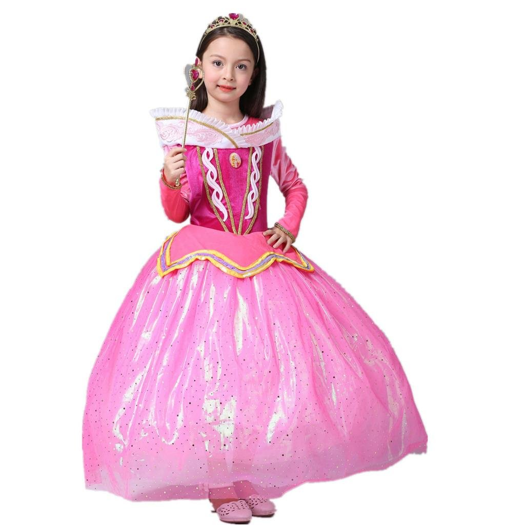 Amazon.com: starkma Bella Durmiente Princesa Aurora vestido ...