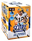 #1: 2018 Score Football Factory Sealed Blaster Box 132 cards (11 packs of 12 cards)