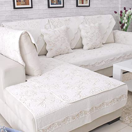 Astounding Amazon Com Sandm Non Slip Cotton Sofa Cover Protector Ibusinesslaw Wood Chair Design Ideas Ibusinesslaworg