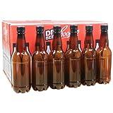 Coopers 500ml Amber PET Plastic Beer Bottles With Screw Caps Pack of 24.