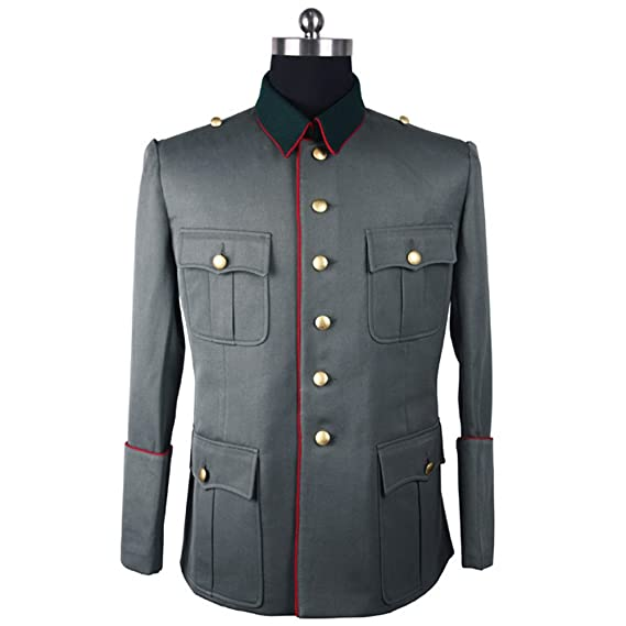 Men's Vintage Style Coats and Jackets WW2 German M41 General Officer Tuxedo $127.49 AT vintagedancer.com