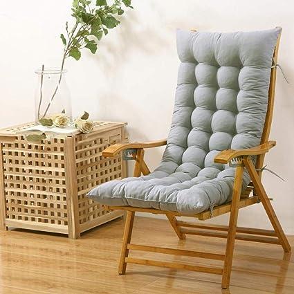 Ritaba Thick Chair Seat Cushion Rocking Chair Cushion Set Pad Chaise Lounge  Cushion High Back Wicker