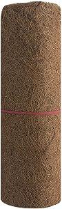 EKDJKK Reptile Carpet, Coconut Fiber Substrate, Lizard Cage Mat, CocoFiber Liner, Garden Decor Balcony Home Basket Liner Flower Pot Keep Warm (23 x 33 inch)