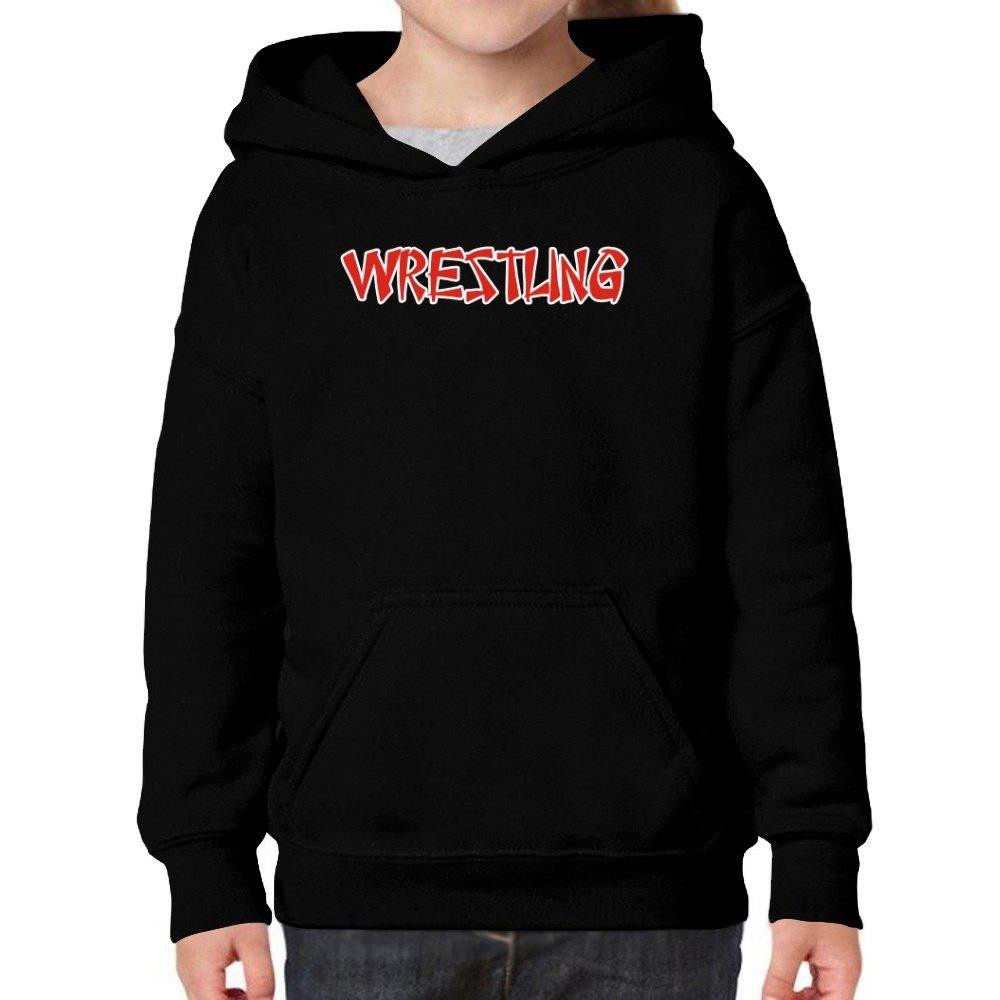 Teeburon Wrestling Oriental Style Girl Hoodie