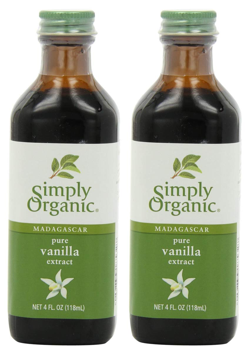 CMZC Pure Vanilla Extract, Certified Organic, 2 Bottle of 4 Ounces