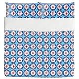 Tortoise Shells Duvet Bed Set 3 Piece Set Duvet Cover - 2 Pillow Shams - Luxury Microfiber, Soft, Breathable