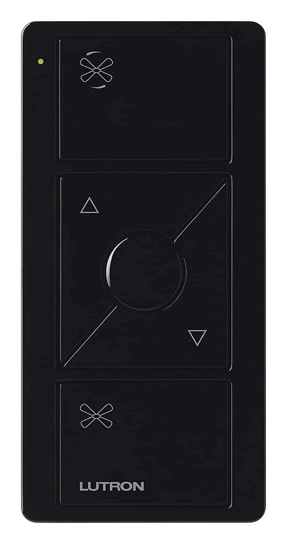 PJ2-3BRL-GBL-F01 Black Lutron Pico Remote for Caseta Wireless Smart Fan Speed Control