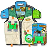 Nature Bound Cargo Vest and Binoculars Combo Set