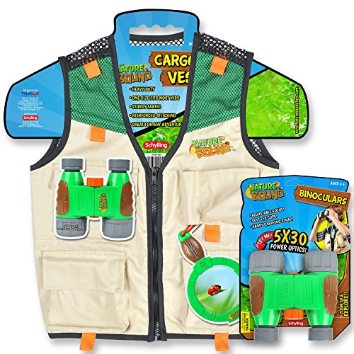 Nature Bound Cargo Vest and Binoculars Combo (Paleontologist Costumes)