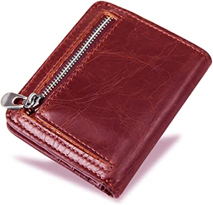 new leather man wallet Purse Multi Card slot for Men/'s Money bag id credit card