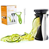 Cool-Shop Vegetable Spiralizer Bundle - Spiral Slicer - Zucchini Spaghetti Pasta Maker