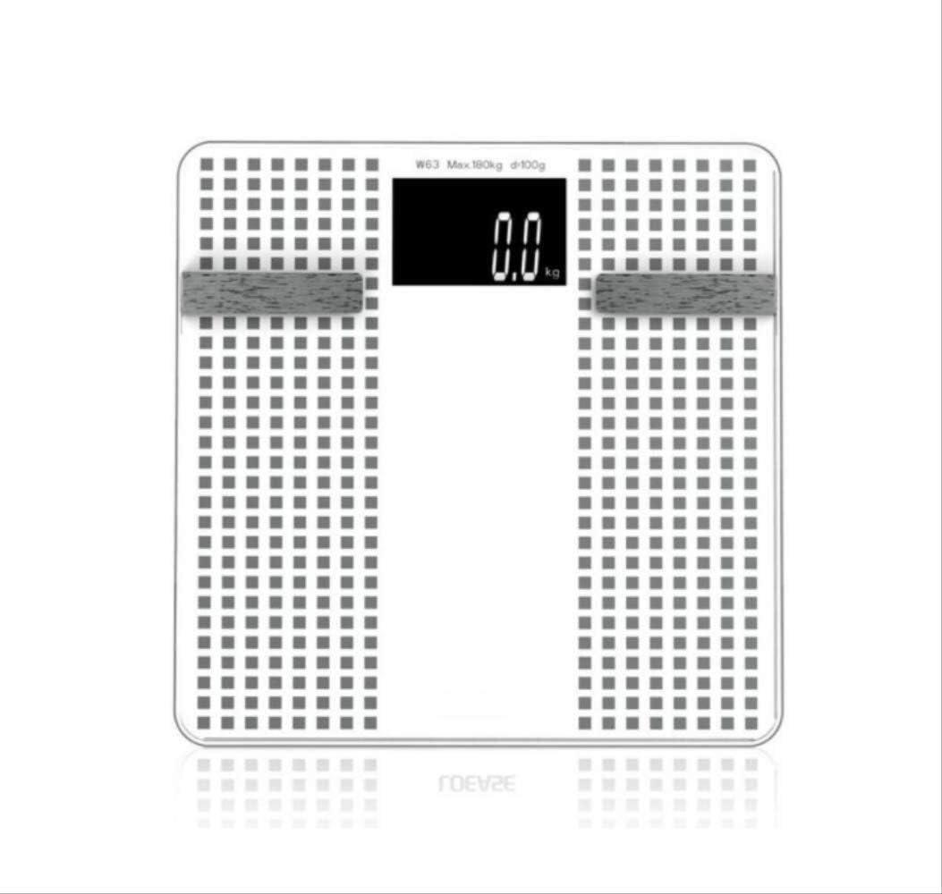 N/ A Báscula de Piso de baño portátil Bluetooth Inteligente