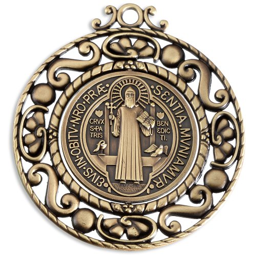 Bronze Benedict Revolving Catholic Protection product image