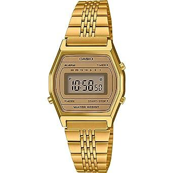 Casio Femmes Digital Quartz Montre avec Bracelet en Acier Inoxydable Massif  LA690WE  Amazon.fr  Montres 0064d3e3bc70