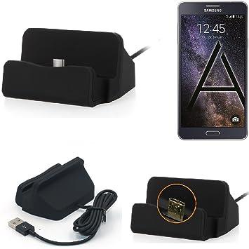 K-S-Trade Base de Carga para Samsung Galaxy A8 Micro USB Cargador ...