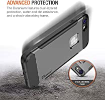 Duranium Series with Holster Heavy Duty Protective Cover with Built-in Screen Protector for Apple iPhone 8 Phone Trianium iPhone 8 Case Belt Clip Kickstand - Rose Gold Full Body Protection 2017