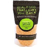 Honest to Goodness Organic Red Split Lentils, 500g