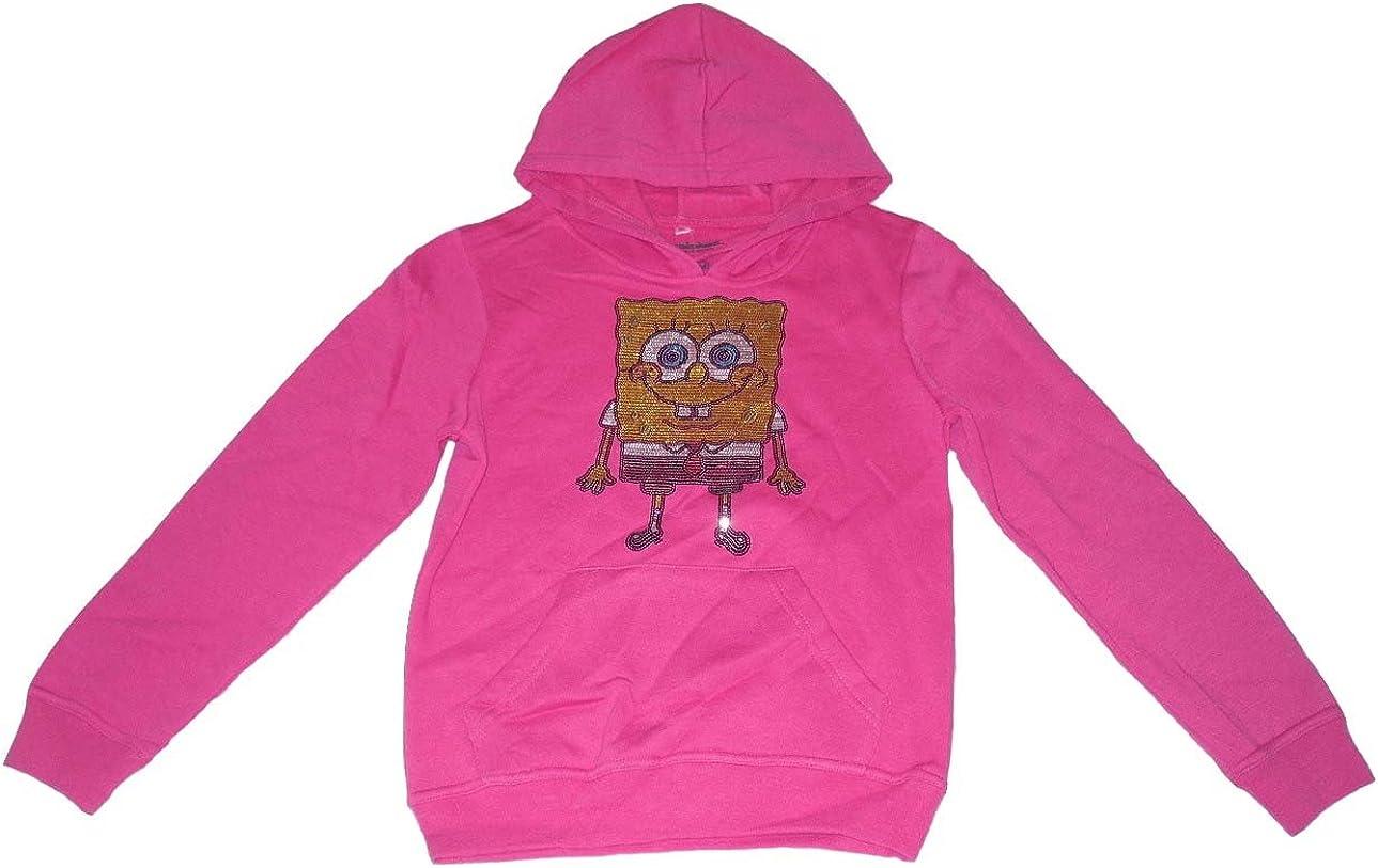 Spongebob Girls Hoodie Top 9-16 Years Old Pink