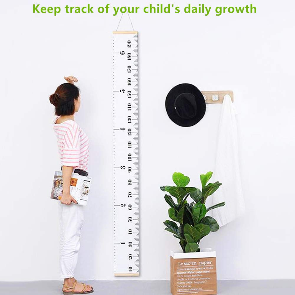 Khlz Us Height Growth Chart For Kids Portable Foldable Writable