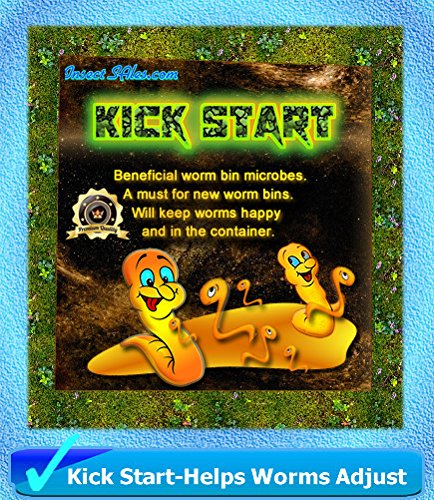 "Worm Composting (""KICK START"") --- (2 Lbs) of Beneficial Microbes 100% Organic"