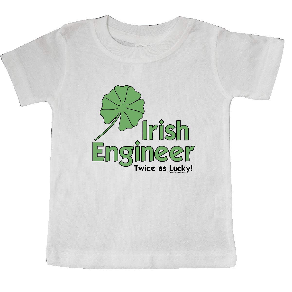 inktastic Twice As Lucky Baby T-Shirt