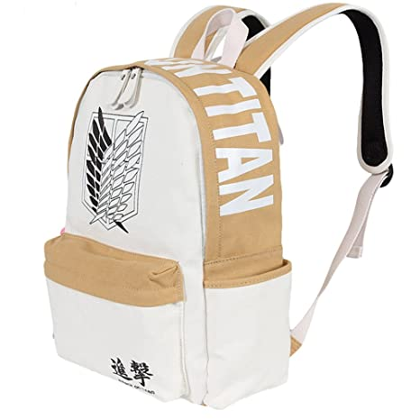 239c20817e90 Amazon.com | Gumstyle Attack on Titan Anime Cosplay Canvas Backpack ...