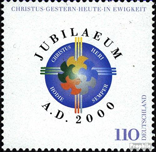 2000 Jubil/äum A.D 2000 2087 Prophila Collection BRD kompl.Ausg. BR.Deutschland Briefmarken f/ür Sammler