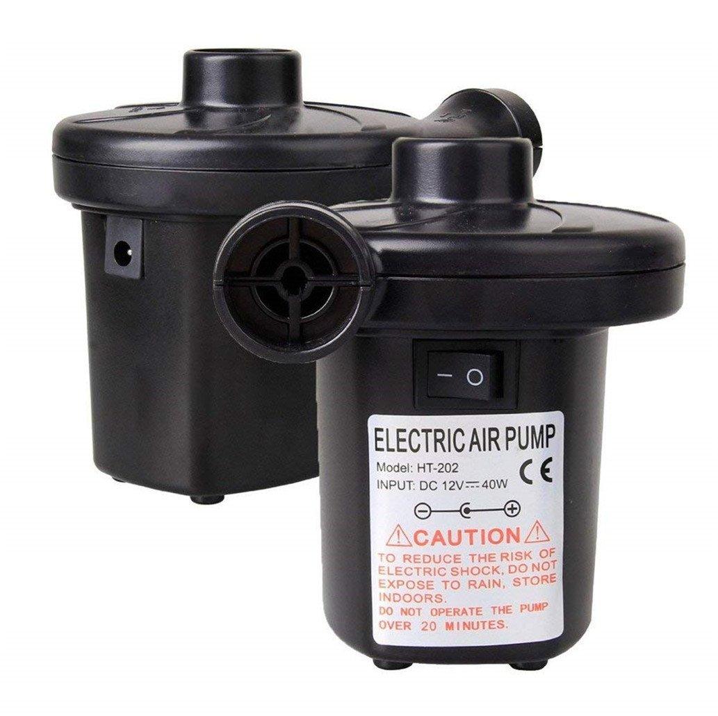 Elektropumpe Power Pump mit 3 Luftd/üse f/ür aufblasbare Matratze Kissen Boot Bett SXYHKJ Elektrische Luftpumpe Schwimmring
