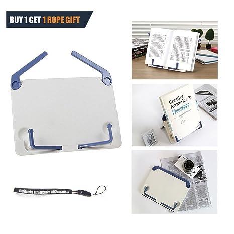 HANDSOME - Atril portátil de lectura, pequeño, para libros o documentos