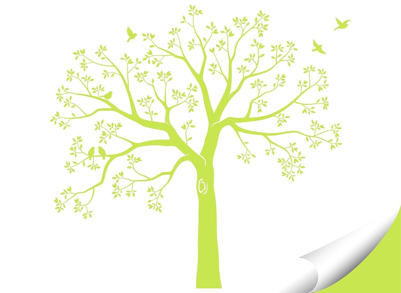 Grandora Wandtattoo Wandtattoo Wandtattoo XXL Baum Vögel I schwarz (BxH) 165 x 160 cm I Wohnzimmer Schlafzimmer Flur Sticker Aufkleber selbstklebend Wandsticker Wandaufkleber W5480 B0753F5Q28 Wandtattoos & Wandbilder 4e36a8