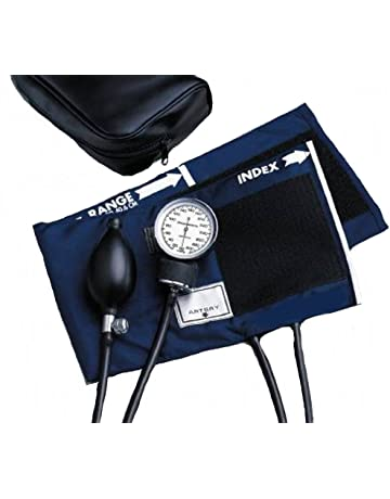 McKesson 01-775-11ANGM Standard Pocket Style Hand Held Aneroid Sphygmomanometer, Adult Cuff