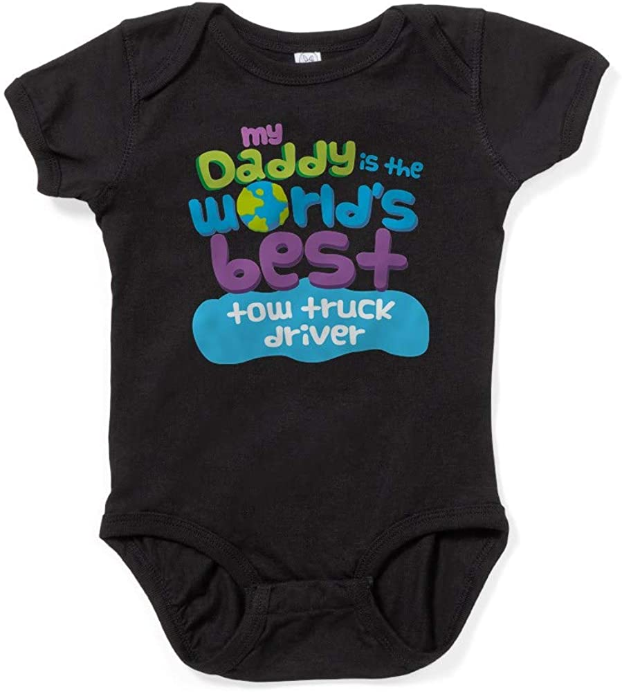 CafePress Tow Truck Driver Gifts for Kids Baby Bodysuit