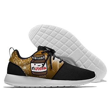 67e82fbdb3bb Amazon.com   Ruby Fondos Tumblr Nutella Men s Running Shoes Mesh Soft  Lightweight Sport Shoes   Sports   Outdoors