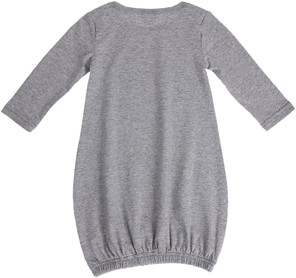 Chinatera Baby Infant Long Sleeve Gown Toddler Sleeper Gowns