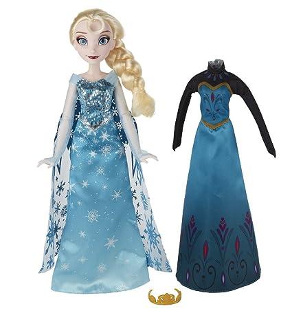 De Elsa Muñeca Cambio Vestidohasbro Disney B5170es0 Frozen Ok8wn0P