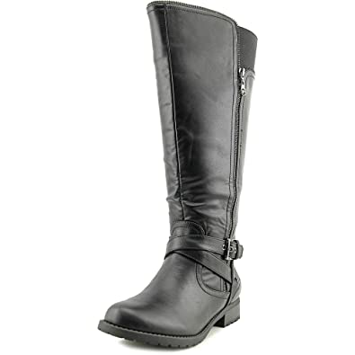 G by Guess Womens Halsey Round Toe Knee High Riding Boots Black Size 8.0