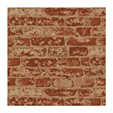 Wall In A Box BZ9206 Stuccoed Wallpaper, Rust Red, Barn Red, Ivory, Beige Wine Red