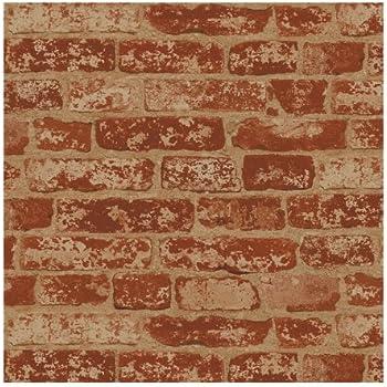 York Wallcoverings HE1044 Modern Rustic Brick Wallpaper Amazoncom