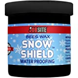 JobSite Snow Shield Waterproof Beeswax Paste - Protect Leather Against Rain, Snow, Sun & Salt - 6 oz.