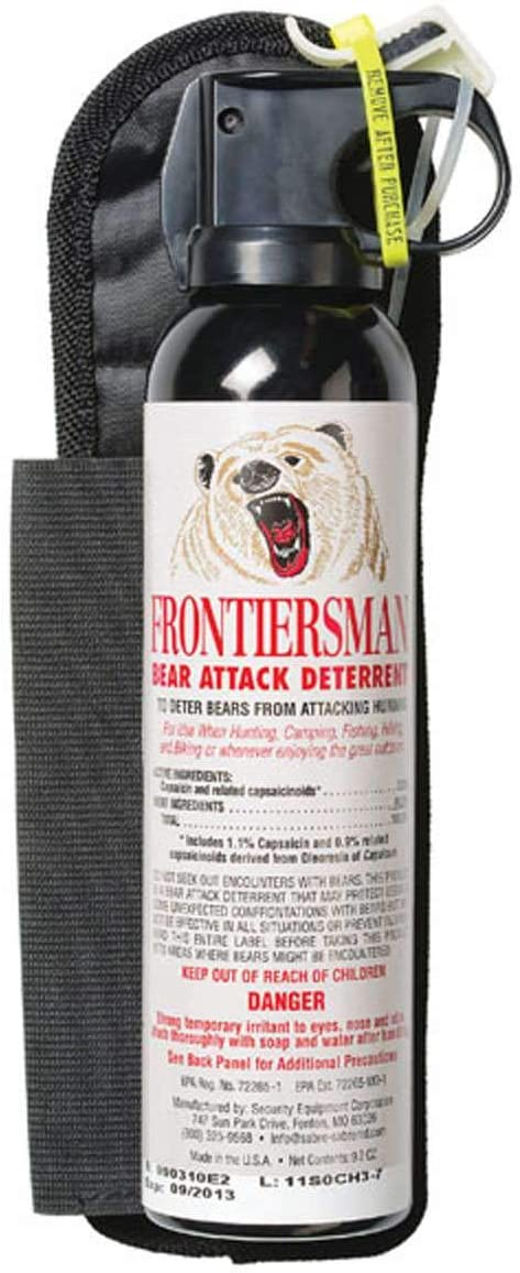 Frontiersman Bear Spray with Holster