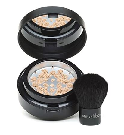 71181b2863073 Amazon.com   Smashbox HALO Hydrating Perfecting Powder Fair travel size  0.11 oz with brush   Beauty