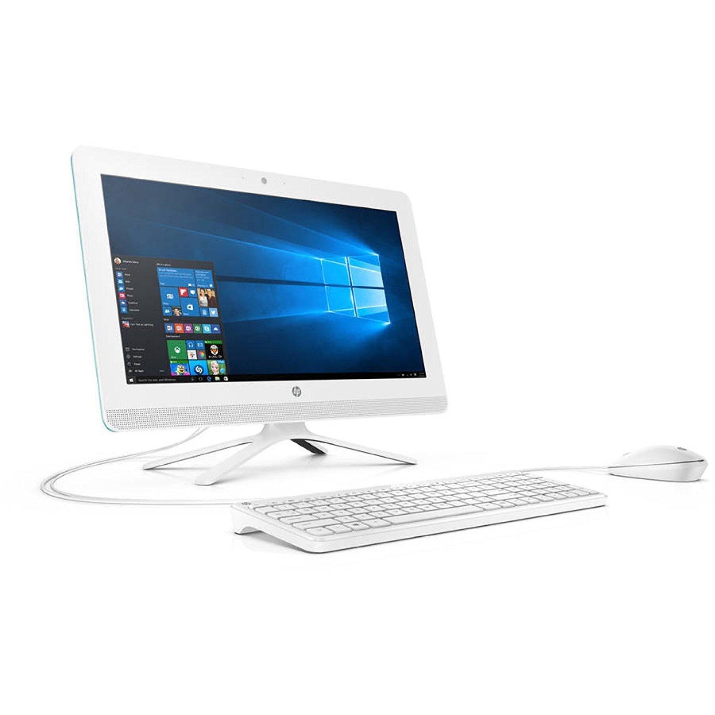 2017 HP Pavilion 19.5 Inch All-in-One Premium Flagship Desktop Computer (Intel Dual Core Celeron J3060 1.6GHz, 4GB RAM, 500GB HDD, DVD, HDMI, USB 3.0, Webcam, Windows 10) (Certified Refurbished)