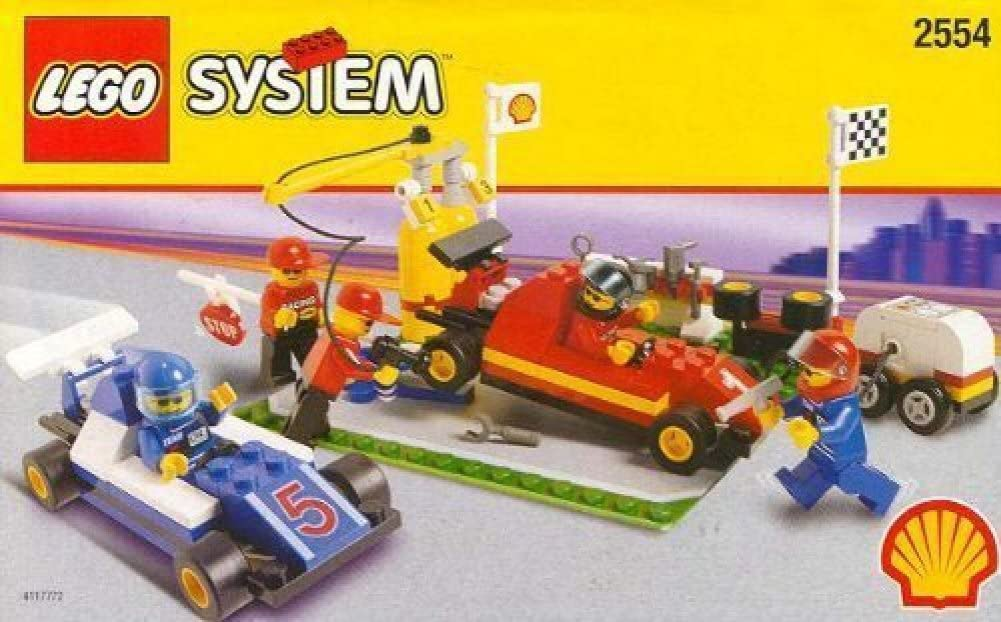 LEGO Shell Promotional Set: Pit Stop Set #2554