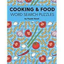 Cooking & Food Word Search Puzzles: Large Print Word Search Puzzles for Foodies