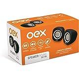 Caixa Acústica para Computador Speaker Round 8W USB/P2, Newex, SK100, Outros Acessórios para Notebooks, Black